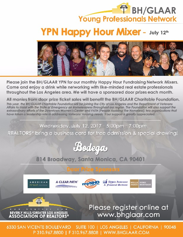 Ypn happy hour mixer bodega wine bar event on bhglaar reheart Images