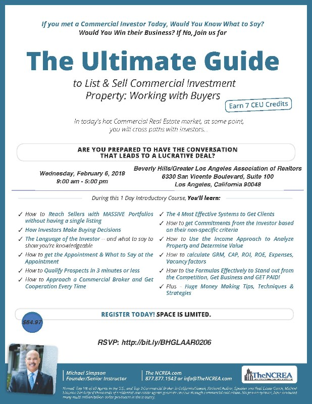 The Ultimate Guide: How to List/Sell Commercial Investment