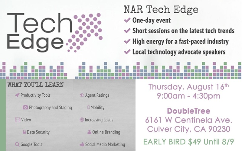 NAR Tech Edge - Los Angeles on BHGLAAR com